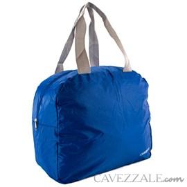 Sacola Dobrável de Nylon Cavezzale Azul 0101222