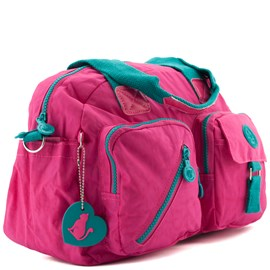 Sacola Tote Nylon Gosuper Pink 0100367