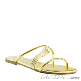 Sandália Cavezzale Ouro 102179