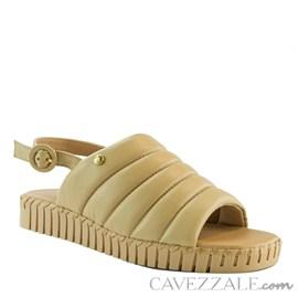 Sandália de Couro Cavezzale Nude 102174