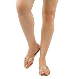 Sandália de Couro Cavezzale Rosê 102170
