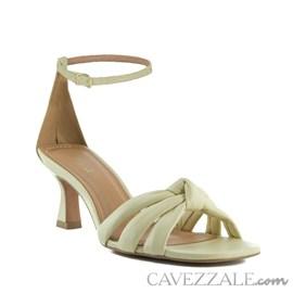 Sandália de Couro Cavezzale Veneto Crema 102562