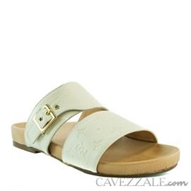 Sandália de Couro Nude Cavezzale 102167