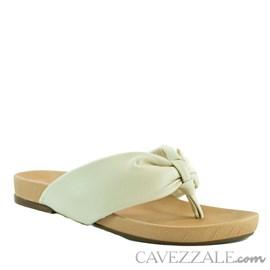 Sandália de Couro Nude Cavezzale 102168