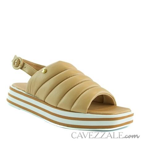 Sandália de Couro Nude Cavezzale 102173