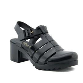 Sandália Sintético Petite Jolie Off Black 099423
