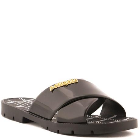 Sandália Sintético Petite Jolie Off Black 099434