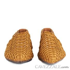 Sapatilha Cavezzale Bordado Caramelo 101981
