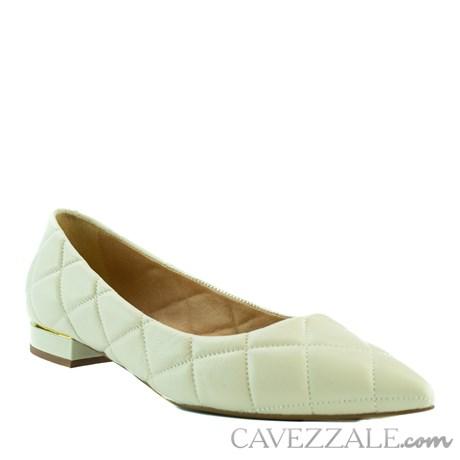 Sapatilha de Couro Off White Cavezzale 102153