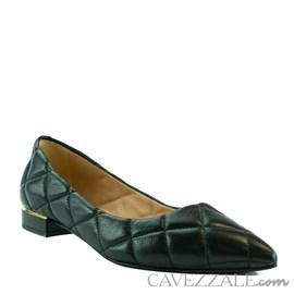 Sapatilha de Couro Preto Cavezzale 102153