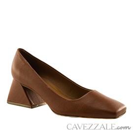 Scarpin de Couro Naturale Cavezzale Castor 101947