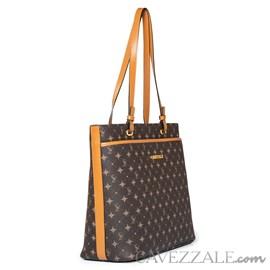 Shopping Bag Personnalite Cavezzale Monograma Chocolate/caramelo 102747