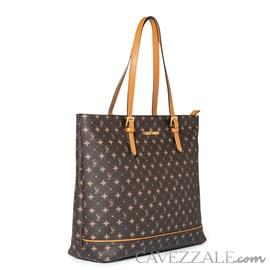 Shopping Bag Personnalite Cavezzale Monograma Chocolate/caramelo102748