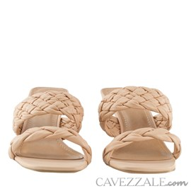 Tamanco de Couro Cavezzale Veneto Cipria 102561