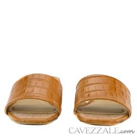 Tamanco em Couro Croco Cavezzale West 0101453