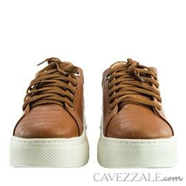 Tênis Cavezzale Escama Caramelo 102064