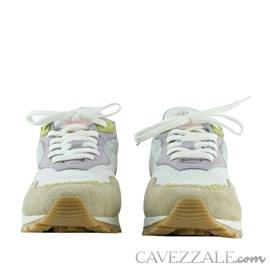 Tênis de Couro Cavezzale Camurça Sand 102550