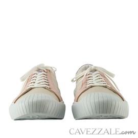 Tênis de Couro Cavezzale Slim OffWhite/Danone 102552