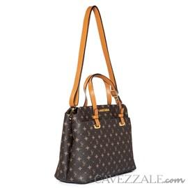 Tote Bag Feminina Personnalite Cavezzale Monograma Chocolate/caramelo 102742
